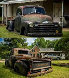 54 Chevy Truck, Chevy Pickup Trucks, Classic Chevy Trucks, Gm Trucks, Chevrolet Trucks, Chevrolet 3100, Chevy Stepside, Chevy Pickups, Hot Rod Trucks