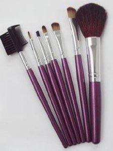 SNOW@Professional Cosmetic Beauty Makeup Brush Set 7Pcs by SNOW. $10.95. The professional makeup brush set is easy to carry and use. Each cosmetic brush in this 7-piece set is individually handmade. The long handle design is very convenient to make up. Different brushes have different functions and all brushes make up are disinfected. You should dry the brushes with towel after cleaning. These face brushes are also safe and easy to clean by simply spraying   rubbin...