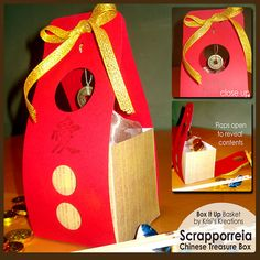 cute box template @scrapmatters #KrisisKreations #packaging