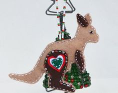 Hand-drawn Christmas Ornament, Christmas Decoration, Galah ...