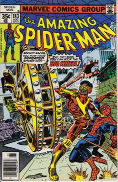 Amazing Spider-Man 183 August 1978 Issue  Marvel by ViewObscura