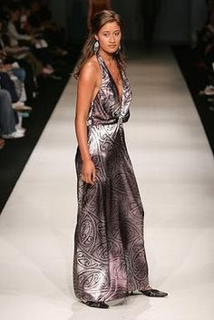 dress, Charmaine Love (Maori)  http://fyeahindigenousfashion.tumblr.com/post/24801188343/dress-charmaine-love-maori