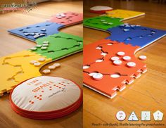 Reach & Match Braille Learning Toy by Lau Shuk Man. I want it!