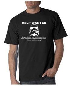 Empire Help Wanted T-shirt from DesignerTeez