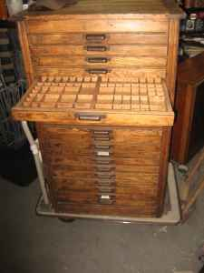 antique jewelers cabinet (on Craigs list) NY I would LOVE to have one of these..hope the original link follows it!
