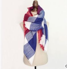 ... Plaid Scarf New Designer Unisex Acrylic Basic Shawls Women s Scarves  Big size Scarves Picture in Scarves   Aliexpress.com   Alibaba Group.  Écharpe ... 46327b737c5