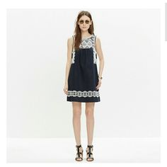 Madewell embroidered stitchtake dress An easy deop over your head style dress with gorgeous Mexican inspired embroidery. Absolutely perfect for those hit summer days! Sold out immediately in stores and online. HTF Purchased for over 170.00 in store with taxes Madewell Dresses