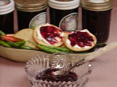 This is sweet and spicy. Use as a glaze or top cream cheese for an appetizer. Pepper Jelly Recipes, Jalapeno Jam, Hot Pepper Jelly, Jalapeno Recipes, Jalapeno Pepper, Plum Jam Recipes, Jam And Jelly, Stuffed Hot Peppers, Sweets
