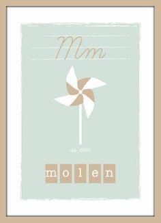 Poster M is een molen