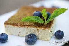 Jaden looked at several flan recipes on the internet and came up with his own version after realizing that everything he found used sweetened condensed milk or tons of sugar.