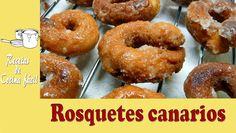 Recetas de cocina fácil - Rosquetes canarios