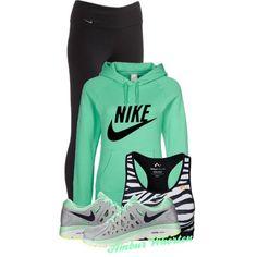 She Looks Good In Nike
