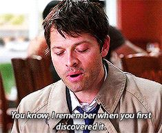 """5.) He's full of fun historical facts 2/3  ------ Why Castiel Is Everyone's Favorite On """"Supernatural"""" (Just for the record Dean is my favorite)"""