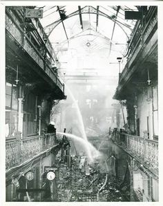 Two years after the Strand Arcade on George St, Sydney was listed by the National Trust Australia (NSW), an electrical fault on the 26 May 1976 resulted it to catch on fire. Essence Of Australia, Sydney Australia, Australia Travel, Aboriginal History, The 'burbs, As Time Goes By, Photo Memories, Cool Countries, History Facts