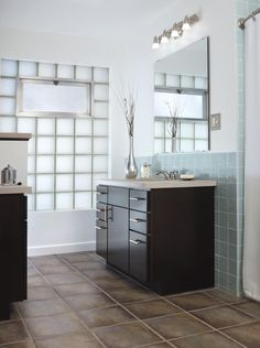 Understated and elegant, Aristokraft's Teagan offers clean, crisp lines with a modern touch. Its sleek simplicity will make your bathroom feel serene and uncluttered.