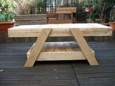 Table basse en bois de palettes