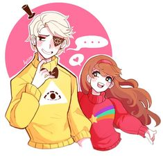 MaBill | Bill CipherMabel Pines| Gravity Falls | VK