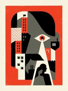 """Doublenaut   Blog: """"Big Brother Is Watching You"""" in Poster Inspiration"""
