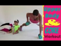 Work the upper body and core with barely any equipment, just dumbbells and right from home.  Great for leaning and toning and burning calories.
