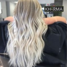 One of our blonding specialists @hairbyheathh made these long, lovely locks ice cold perfection ❤️❄️ || #hair #haircut #hairdo #haircolor #hairstyles #hairstylist #hairofinstagram #hairgoals #hairideas #hairoftheday #hairporn #haircare #hairfashion #hairtutorials #hairvideos #braids #blondhair #brunette #hudabeauty #balayage #balayageombre #blondehair #blonde #yyj #yvr #photooftheday #instagood #like4like #redken #wella #aveda #schwarzkopf