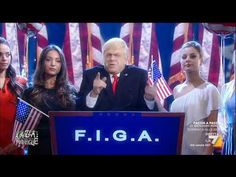 Crozza-Trump: 'The most important thing is Foundation International Global of America… F.I.G.A.' - YouTube