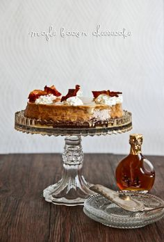 Bacon Maple Cheesecake & The Crazy Bacon Lady