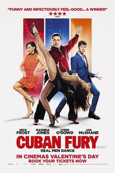 Askin Dansi - Cuban Fury - 2014 - BDRip Film Afis Movie Poster