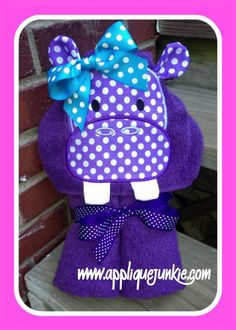 This is a funky hippo that I made for you to enjoy! Super fun for your funky little kid! This whimsical bunny is a fun way to add the boutique