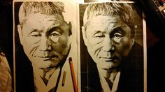 Takeshi Kitano (pencil, 2015)