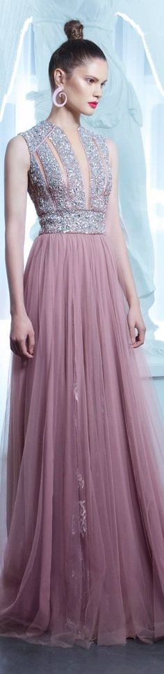 Cool Evening dresses Nicolas Jebran Spring 2015... Check more at http://24myshop.tk/my-desires/evening-dresses-nicolas-jebran-spring-2015/