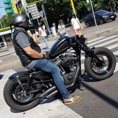 Harley bobber 48 forty eight