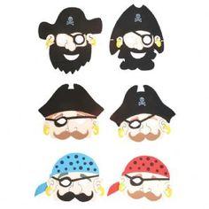 Foam Pirate Mask   Fancy Dress   Novelty Toy Shop
