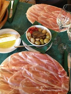 This is real Prosciutto di San Daniele. Eaten in San Daniele del Friuli (which gives it a special amazing taste)