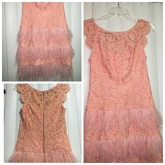 Bebe lace feather dress small new New Bebe feather lace dress small new never worn bebe Dresses Mini