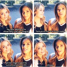 PLLs Emison :) I don't ship Emison. Sorry please don't hate. No hate or rude comments please.