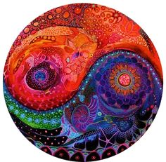 hippie boho nature colorful universe yin yang gypsy transparent ...