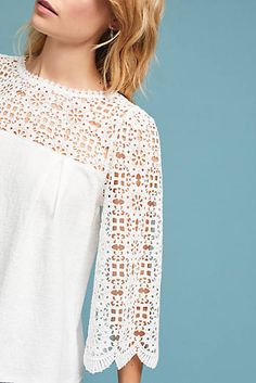 Marigold Lace Top