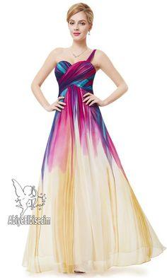 uzun abiye elbise tek omuz askılı  şifon   abiye ,abiye elbise,kısa abiyeler,uzun abiye,online abiye,ucuz abiye