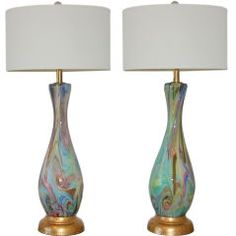 Vintage Murano Lamps