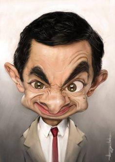 """Mr. Bean"" Rowan Atkinson"