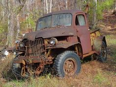 Vintage Power Wagon Tow Truck