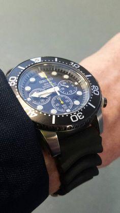 Seiko chronograph men watches, Men watches