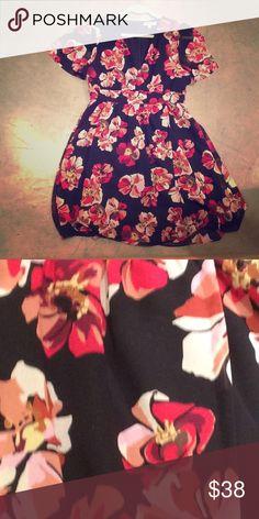 baf3519c8 Tulip Sleeve Madewell Mini Dress Tulip-sleeve faux wrap mini-dress from  Madewell.