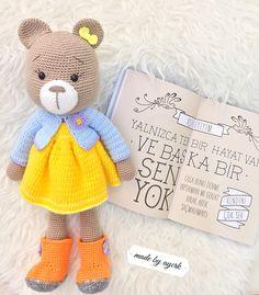 Lana, Teddy Bear, Diy Crafts, Wool, Knitting, Appliques, Animals, Toys, Amigurumi