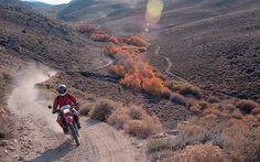 California High Desert Dirt Bike Trail