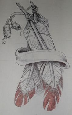 Tattoo Feather Arm Pictures 49 Ideas - -Best Tattoo Feather Arm Pictures 49 Ideas - - Native American style eagle with feathers and beads. Pencil drawing with dark sh. Native American Feather Tattoo, Indian Feather Tattoos, Native American Drawing, Native American Artwork, American Indian Tattoos, Indian Feathers, Feather Drawing, Feather Tattoo Design, Feather Art