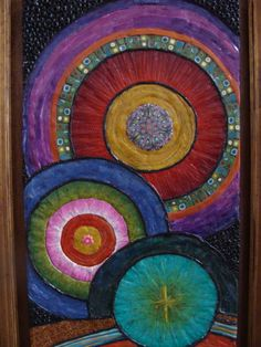 Creation SongPolymer Clay  Art by LaurelTreeStudio on Etsy, $650.00 ( NANA such a cool quilt