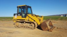1997 Caterpillar 953C Tracked Loader Turbo Diesel Engine Construction Hydraulic