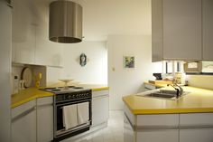Formica yellow counters