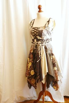how to sew a tattered skirt - Google Search